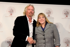 Denise With Richard Branson