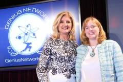 Denise With Arianna Huffington